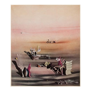 """1947 Yves Tanguy, Original Period Lithograph """"The Light of the Shadow"""" For Sale"""
