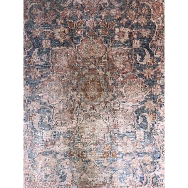 Vintage 3.2' by 5' rug. A beautiful accent for your own interior.