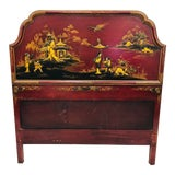 Image of Antique Chinoiserie Bed For Sale