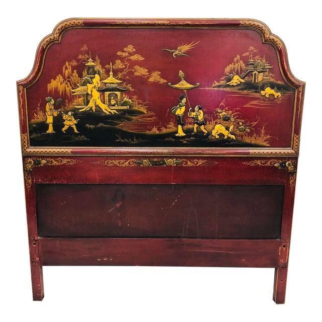 Antique Chinoiserie Bed For Sale