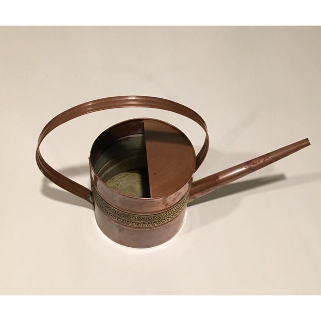 Copper and Brass Watering Can - Image 6 of 7