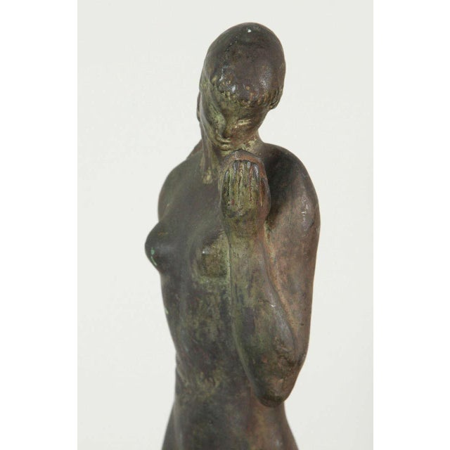 Early 20th Century Gladys Lewis Bush Bronze Sculpture For Sale - Image 5 of 8