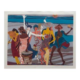 """Rhythm of the Saints"" Artwork by Kathleen Carrillo For Sale"