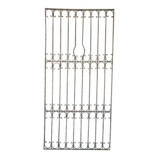 Antique Victorian Iron Door For Sale