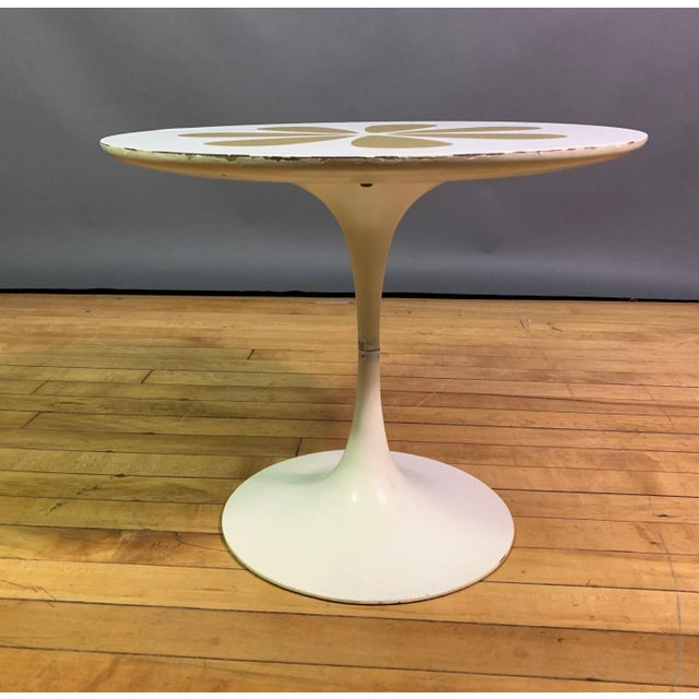 Howard McNab & Don Savage Tulip Side Table, Usa 1961 For Sale In New York - Image 6 of 9