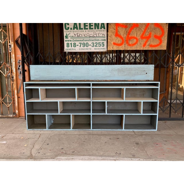 1950's Industrial Style Custom Made Cabinet For Sale - Image 9 of 9