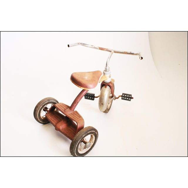 Vintage Rustic Metal Child's Tricycle - Image 7 of 11