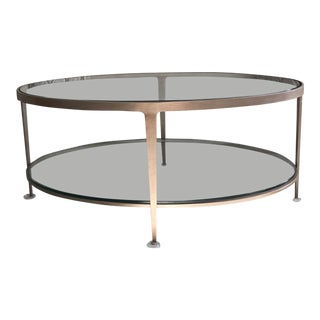 Modern Charleston Forge Cocktail Table For Sale