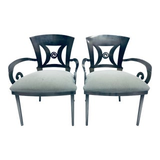Design Institute of America Dining or Occasional Chairs - a Pair For Sale