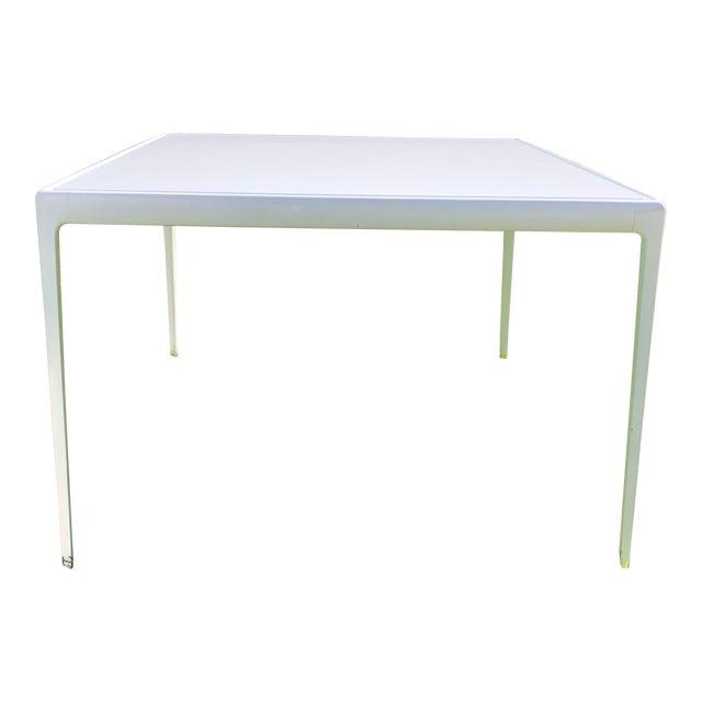 Richard Schultz 1966 Collection Porcelain Outdoor Table For Sale