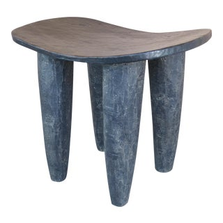 African Hand Carved Senufo Stool from the Cote d'Ivoire