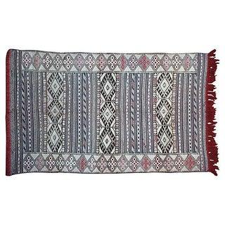 Moroccan Berber Kilim - 7' x 4'1''