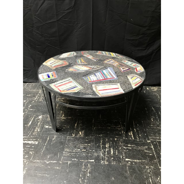 Handmade Steel and Concrete Table - Image 2 of 13