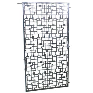 Mid-Century Modern Architectural Garden Gate For Sale