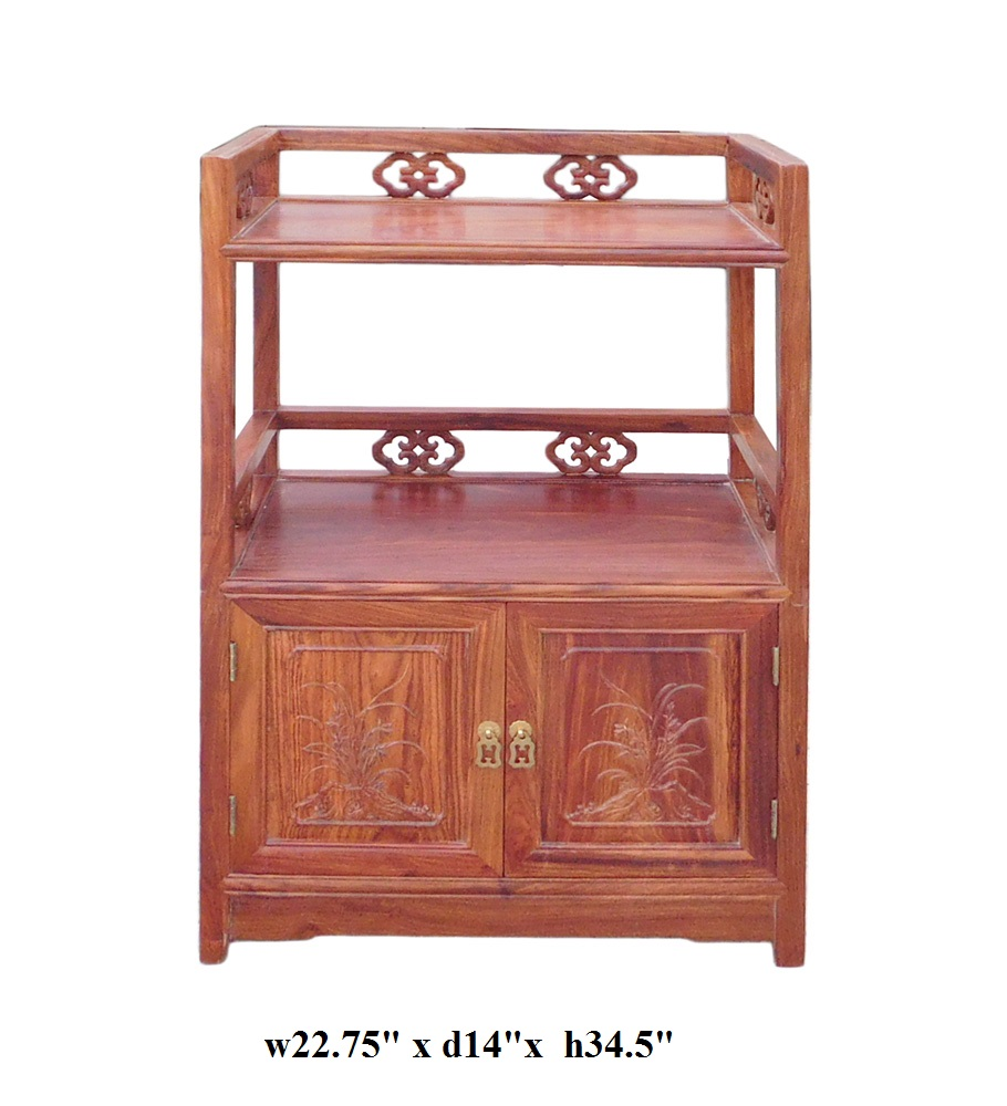 options for kitchen cabinets huali rosewood display cabinet side table chairish 24074