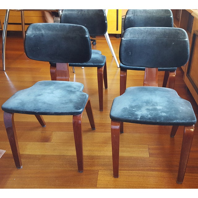 Thonet Side/Dining Chairs - Set of 4 - Image 2 of 10