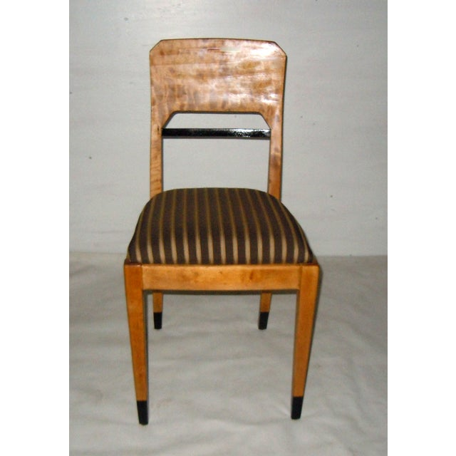 Swedish Biedermeier Accent Chair - Image 3 of 7