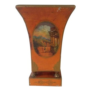 French Tole Style Urn