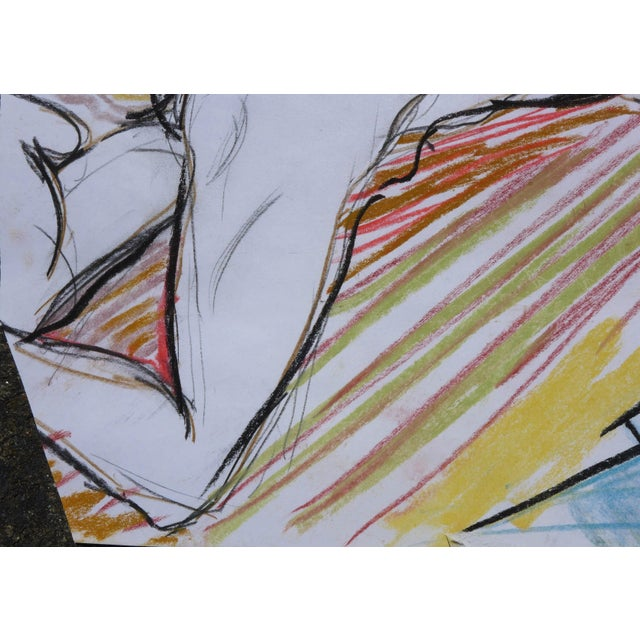 Sunbather Pastel Drawing - Image 5 of 5