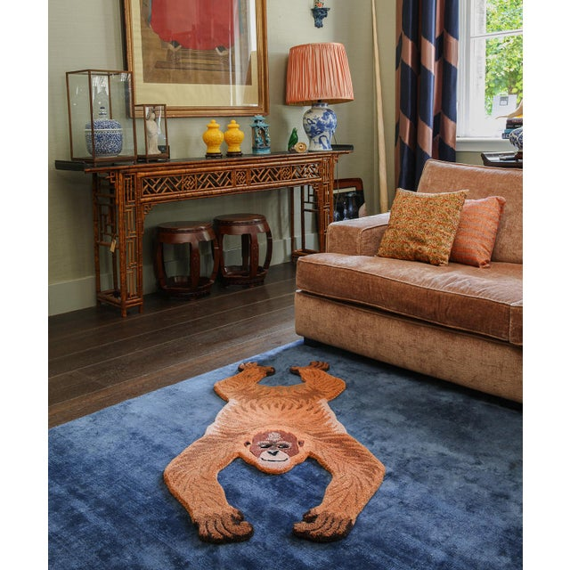Doing Goods Oddly Orangutan Rug Small For Sale - Image 4 of 6