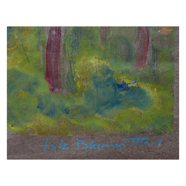 Fritz Blumenthal Edge of the Forest For Sale - Image 5 of 7