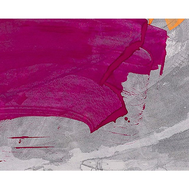 "Abstract Jill Moser ""10.1"" Painting For Sale - Image 3 of 4"