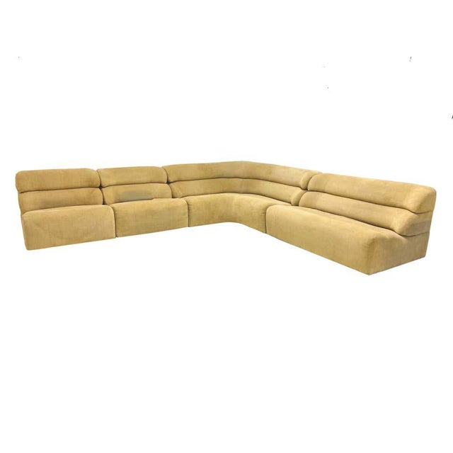 4-piece sectional sofa by Artima of Switzerland. Produced in 1970s.