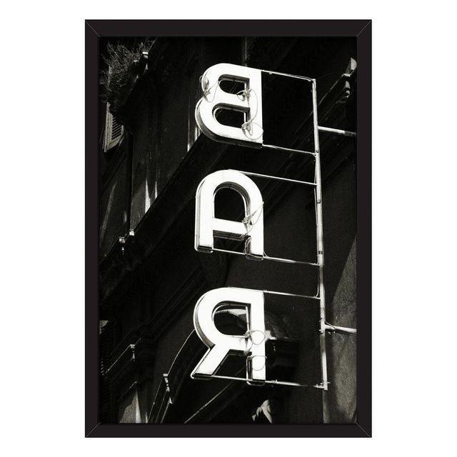 "Robert Evans ""The Bar"" Framed Photo Print - Image 1 of 3"