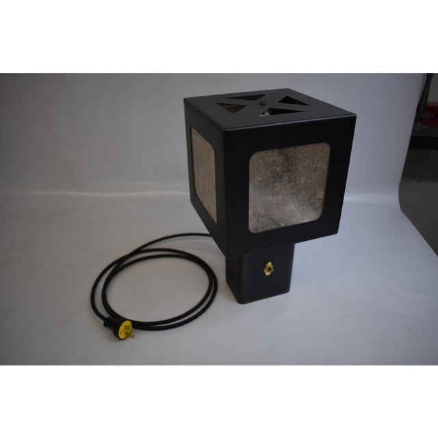 2010s Oblik Studio Cube Table Lamp For Sale - Image 5 of 5