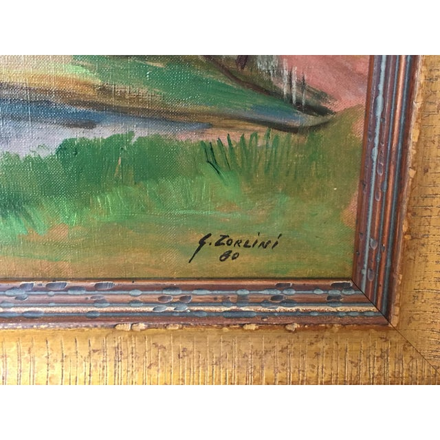 Landscape Paintings by Same Author - A Pair - Image 4 of 7