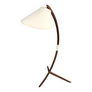 Danish Modern Teak Bow Lamp
