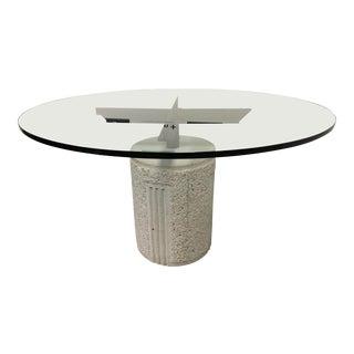 Saporiti Italia Giovanni Offredi Paracarro Dining Table For Sale
