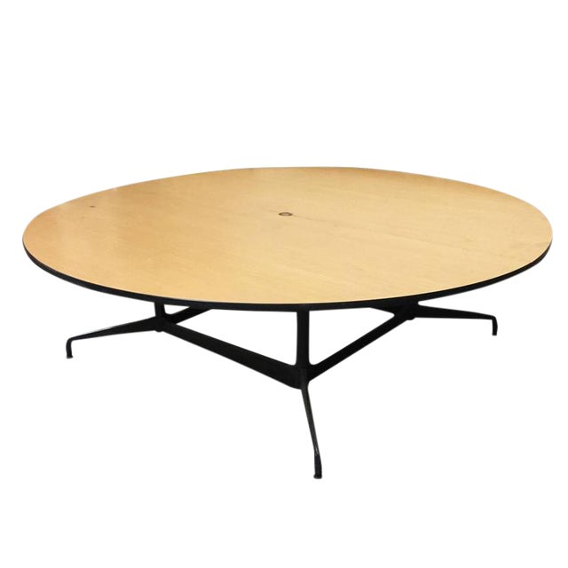 Charles And Ray Eames Round Conference Table By Herman Miller For