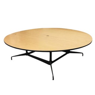 Charles and Ray Eames Round Conference Table by Herman Miller Sale!!! For Sale