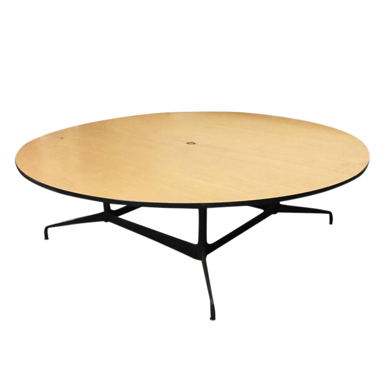 Delicieux Charles And Ray Eames Round Conference Table By Herman Miller Sale!!!