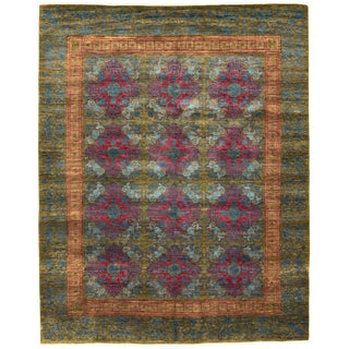 """Hand-Knotted Rug, 12'0"""" X 15'4"""" For Sale"""