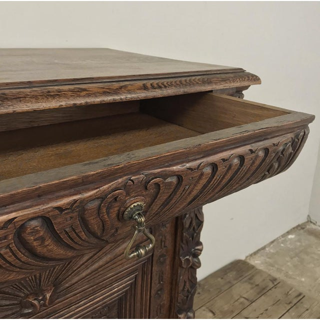 19th Century Flemish Renaissance Cabinet For Sale In Dallas - Image 6 of 13