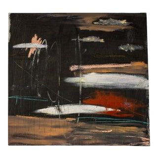 """""""Souffrir; Répéter"""" Contemporary Abstract Mixed-Media Painting by Brian Jerome For Sale"""