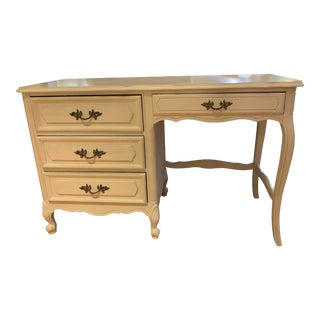Vintage, French Provincial Style Writing Desk For Sale