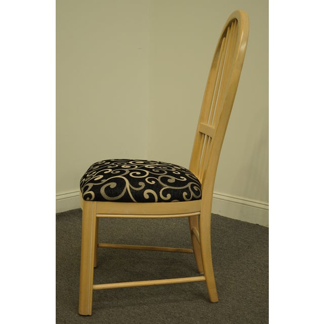 Thomasville Furniture Windrift Collection Dining Side Chair For Sale In Kansas City - Image 6 of 10