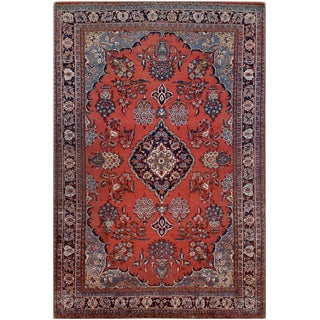 Mansour Original Persian Sarouk Rug For Sale