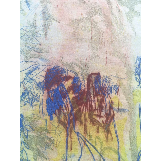 """""""Close View"""" Landscape Etching by Ray Brown For Sale In New York - Image 6 of 6"""