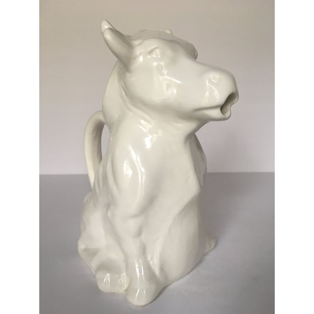 French Milk Cow Pitcher - Image 2 of 7