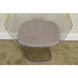 Knoll Warren Platner Nickel Plated Sculptural Steel Wire Side Chair Preview