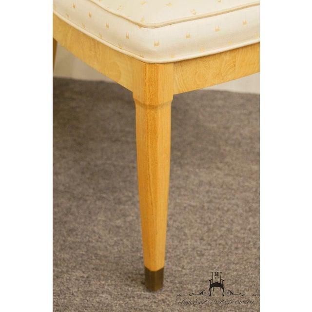 Henredon Scene Two Burled Olive Splat Back Dining / Side Chair For Sale - Image 11 of 13