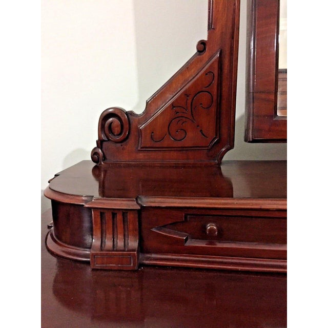 Traditional 19th Century Victorian Mahogany Duchess Dressing Table For Sale - Image 3 of 12