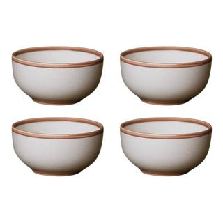 Contemporary 'Hermit' Bowls by Middle Kingdom — Set of 4 - Ivory