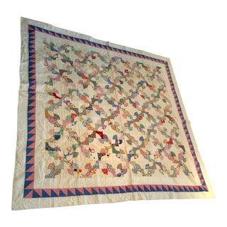 Vintage Patchwork Quilt Cabin Decor