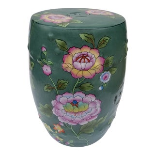 Chinese Ceramic Garden Stool For Sale