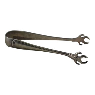 Gorham Sterling Silver Old French Sugar Tongs For Sale